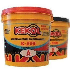 Kekol K300 20kg Adhesivo Epoxi Bicomponente Piso Profesional