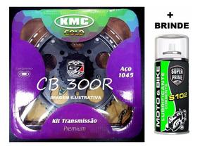 Kit Relação Kmc (transmissão) Da Cb300 Cb300r 2009 A 2015
