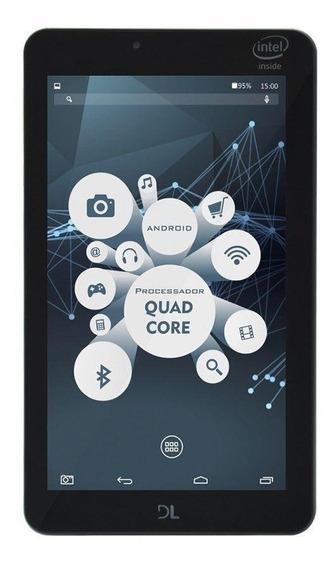 Tablet Dl X-quad Pro Wifi 8gb Branco Tx325 Tela 7 Vitrine