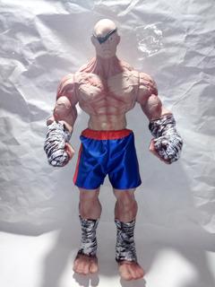 Figura Muñeco Gigante Super Héroe Sagat Streeth Figther