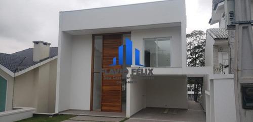 Casa Para Venda Nova E Moderna Com Ampla Área Gourmet E 5 Suítes Amplas - 653