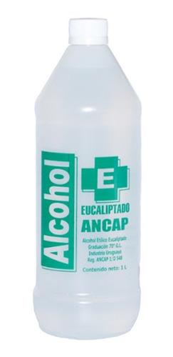 Alcohol Eucaliptado Ancap 1 Litro
