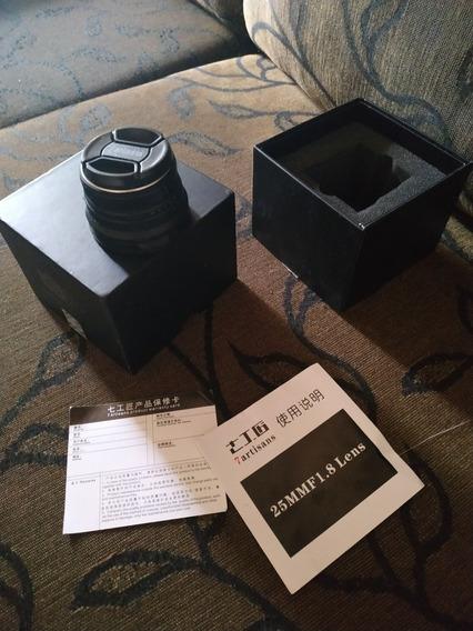 Lente 7artisans 25mm 1.8 Para Sony