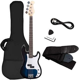 Guitarra Bajo Niño 4 Cuerdas Tamaño Completo