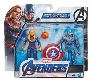 Marvel Avengers 6 Pack Captain America And Captain Marvel
