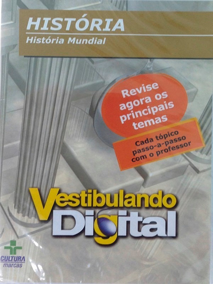 Dvd Vestibulando Digital - História Do Brasil
