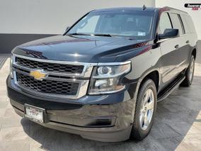 Chevrolet Suburban Lt Negro 2016