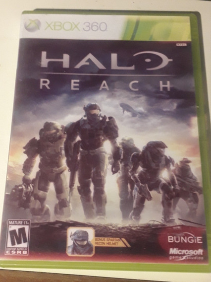 Xbox 360 Retrocomptivel Xbox One - Mídia Fisica - Halo Reach
