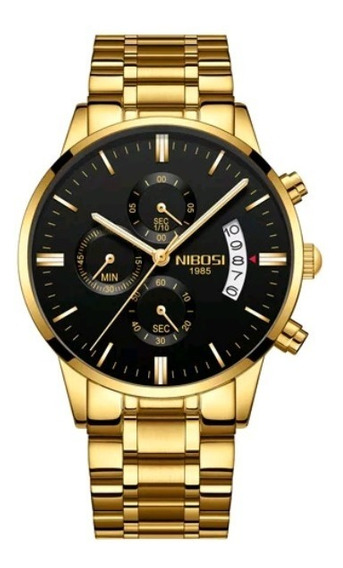 Relógio Nibosi Masculino Original Funcional Vários Modelos