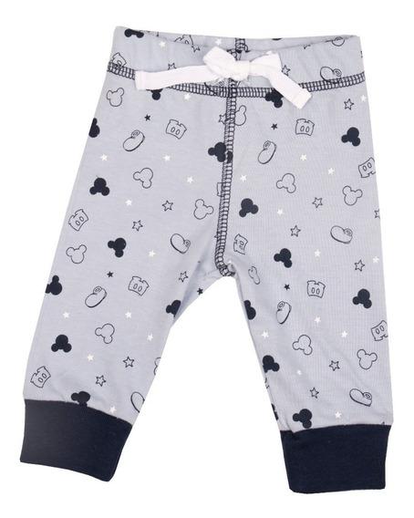 Pack X 6 Pantalones Babucha Bebé 100% Algodón Minnie Mickey