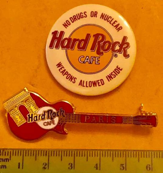 Broche Hard Rock Cafe Guitarra Paris Y Redondo