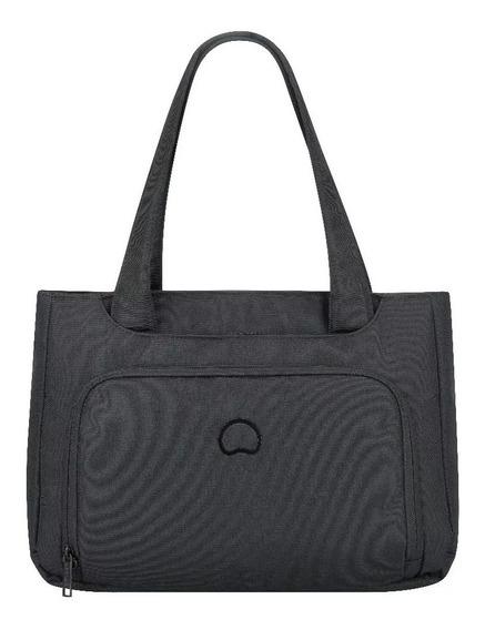 Cartera Shopping Bag Delsey Esplanade Gris Notebook Cuotas!