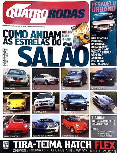 Revista 4 Rodas - As Estrelas Do Salão - No 531 Outubro 2004