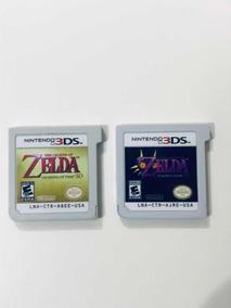 Nintendo 3ds Zelda Ocarina Of Time + Zelda Majoras Mask