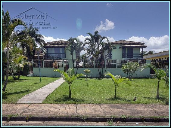 Casa Em Condomínio Frente Ao Mar No Indaiá Em Bertioga. - Cc00146 - 34975149