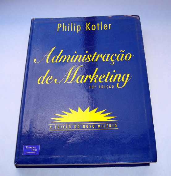 Livro Administração De Marketing Edição 10 Kotler Ed Novo Mi