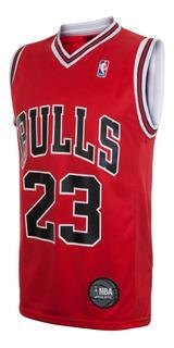 Camiseta Chicago Bulls Basket Jordan Lic Oficial Nba Basquet