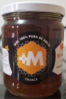 Miel Cruda 100% Pura De Abeja De Mangle De Oaxaca, 590 G