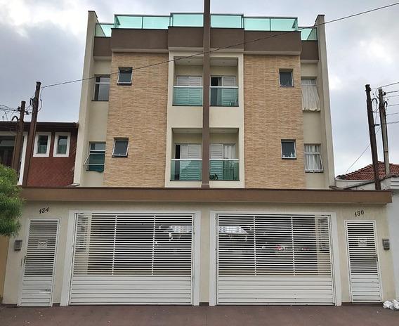 Apartamento Sem Condominio Próximo Centro S.andré- Cobertura