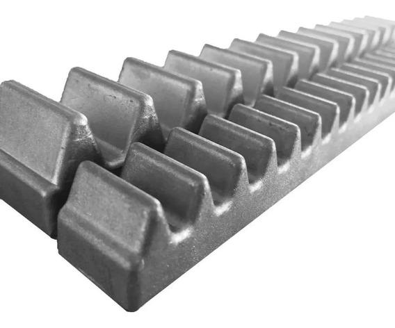 2x Gomo Cremalheira Alumínio 25cm Portão Eletrônico Rossi