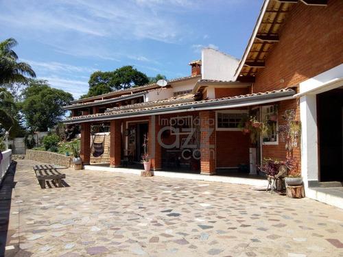 Chácara Com 5 Dormitórios À Venda, 6400 M² Por R$ 1.350.000,00 - Condomínio Itaembu - Itatiba/sp - Ch0543