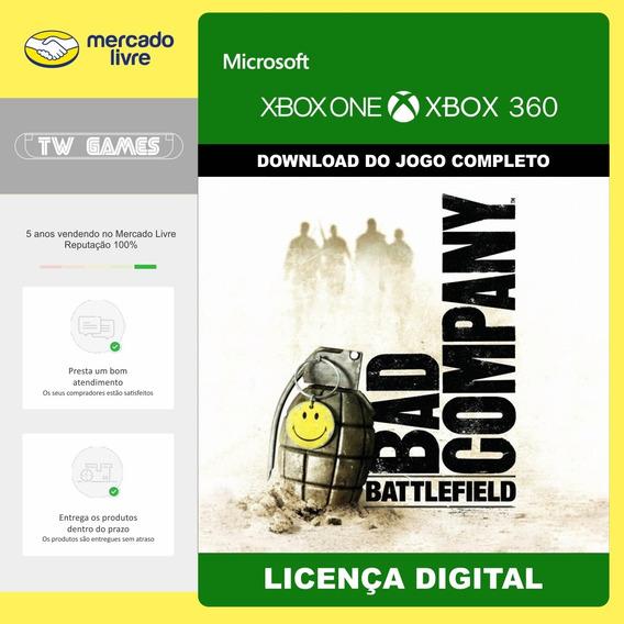 Battlefield Bad Company Digital Retrocompativel Xbox One 360