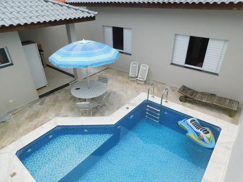 Casa Com Piscina No Balneário Samburá Em Peruíbe À Venda.
