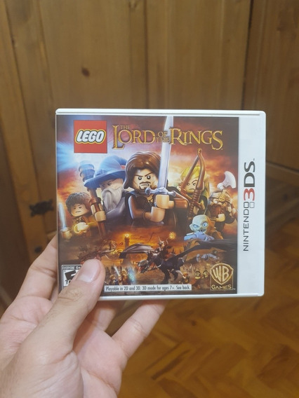 Jogo Original 3ds Lego The Lord Of The Rings