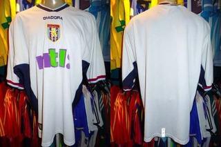 Aston Villa 2000 Camisa Reserva Tamanho Gg.