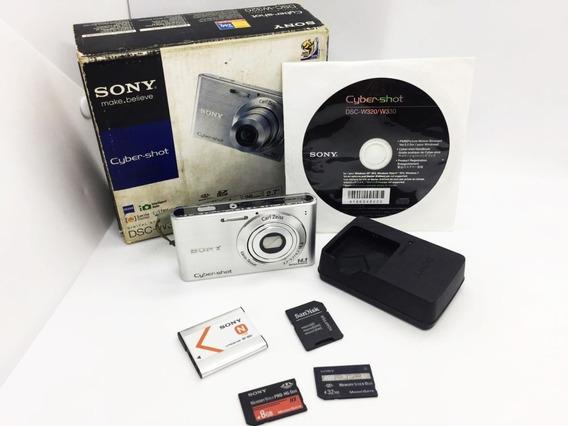 Câmera Digital Sony Cyber-shot 14.1 Mpx + Brinde 8gb Memory
