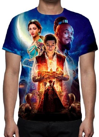 Camiseta Filme Aladdin - Estampa Total