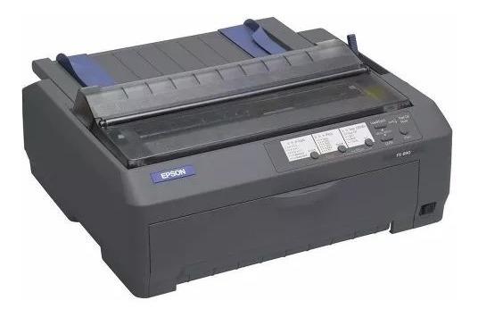 Impressora Matricial Epson Fx-890 Edge 80 Colunas Black