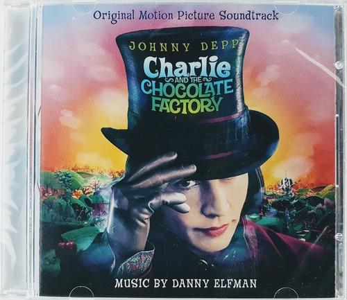 Cd Charlie And The Chocolate Factory - Importado Lacrado