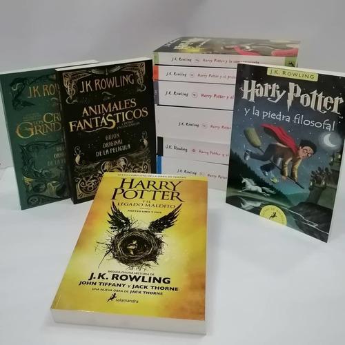 Harry Potter Saga Completa X10 Libros
