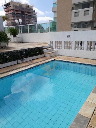 Cobertura  Com 3 Dormitório(s) Localizado(a) No Bairro Gonzaga Em Santos / Santos  - 6576