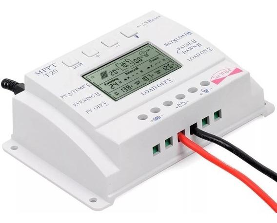 Controlador De Carga Energia Solar Mppt20
