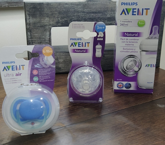Combo Avent Natural 6m+