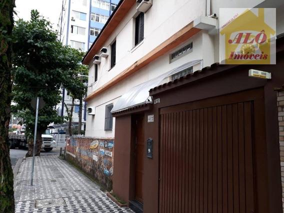 Casa Com 3 Dormitórios À Venda, 140 M² Por R$ 530.000,00 - Itararé - São Vicente/sp - Ca0564