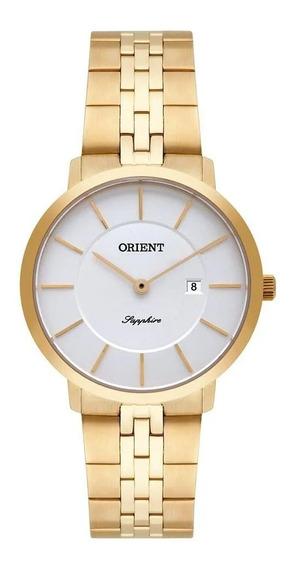 Relógio Orient Feminino Ref: Fgsss005 S1kx Slim Dourado