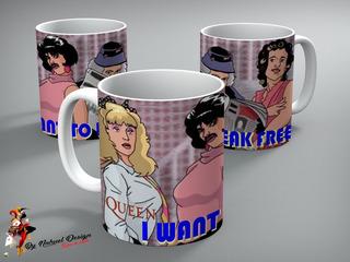 Taza De Ceramica Queen - I Want To Break Free