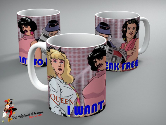 Taza De Ceramica Queen - I Want To Break Free