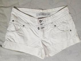 Short Branco Tamanho 40