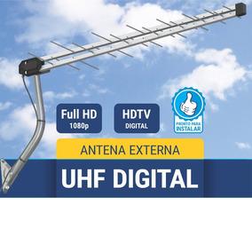 Kit 05 Antenas Externa Uhf/digital 28 Elementos Multivisão