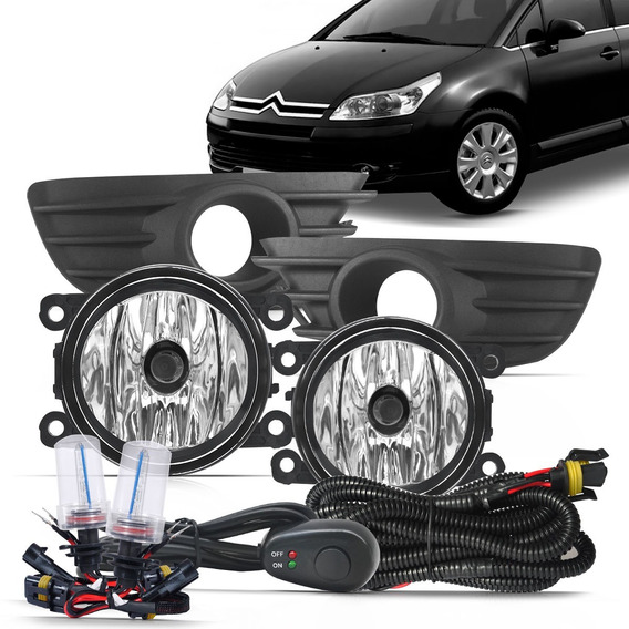 Kit De Farol De Milha C4 Pallas Hatch Sedan +xenon 8000k
