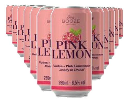 Imagem 1 de 1 de Easy Booze Lata Vodka+pink Lemon 269ml  (12 Unidades)