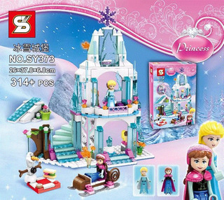 Castillo Hielo Frozen Princess 314 Pcs Armotodo Niña Sy373