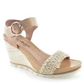 13024e405a Sandalia Anabela Ramarim Confort Feminino - Sapatos no Mercado Livre ...
