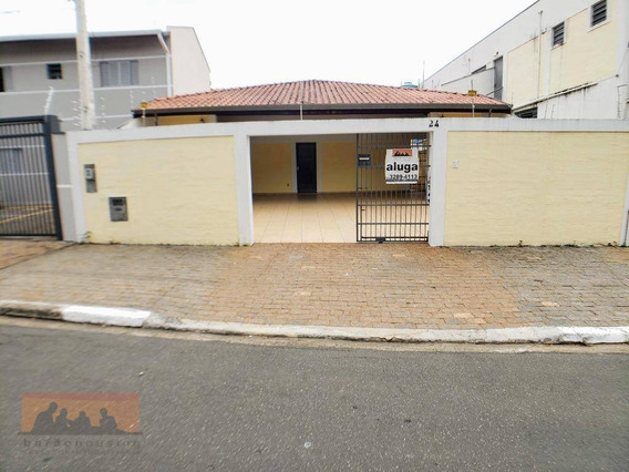 Casa Com 4 Suites Para Alugar, 250 M² Por R$ 4.000/mês - Cidade Universitária - Campinas/sp - Ca1621