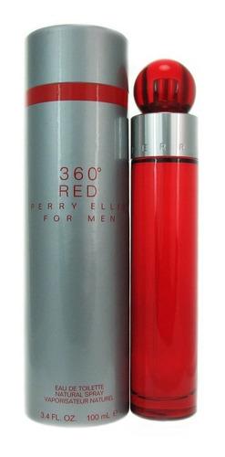Perfume 360 Red Perry Ellis 100 M/l Para Hombre Original