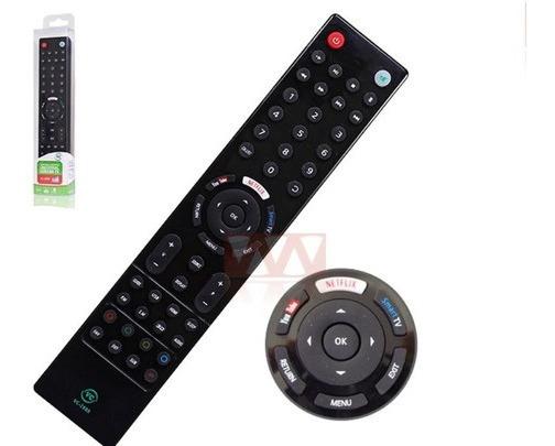 Controle Tv Universal Lcd Led Smart Netflix Youtube Brinde